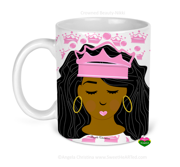 Mug-Crowned Beauty-Nikki