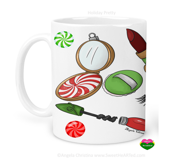 Mug-Holiday Pretty
