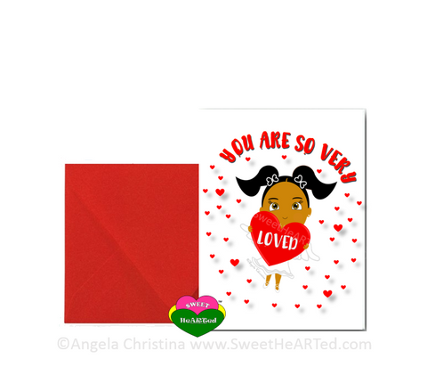 Holiday Card- Heart Angel-June