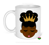 Mug-Her Royal Poofyness-Gold Crown