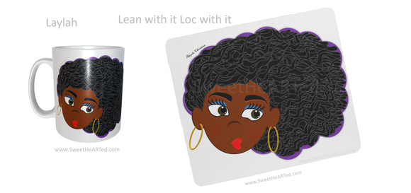 Mug & Mouse pad set -Laylah