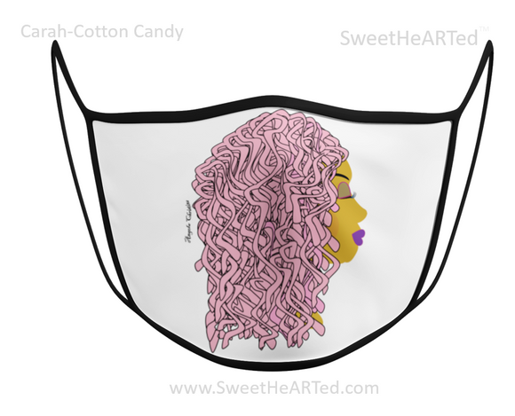 Face Covering-Carah-Cotton Candy