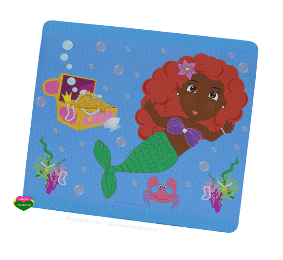 Mouse pad - Merla the Mermaid