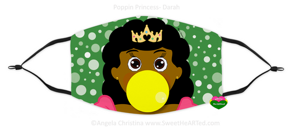 Face Covering-Poppin Princess-Darah(Child)