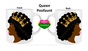 Mug-Queen Pooffant