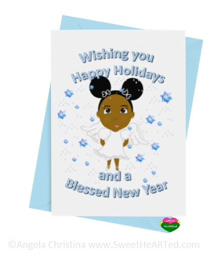 Holiday Card- Snow Angel-Brandy