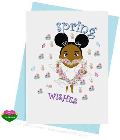 Card- Spring Angel-Dawn