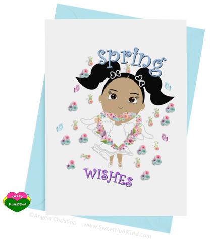 Card- Spring Angel-Darla
