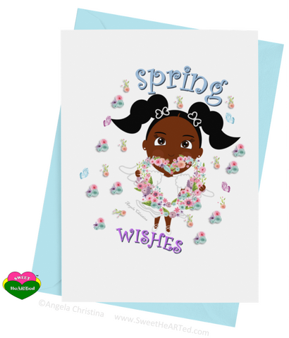 Card- Spring Angel-Eden