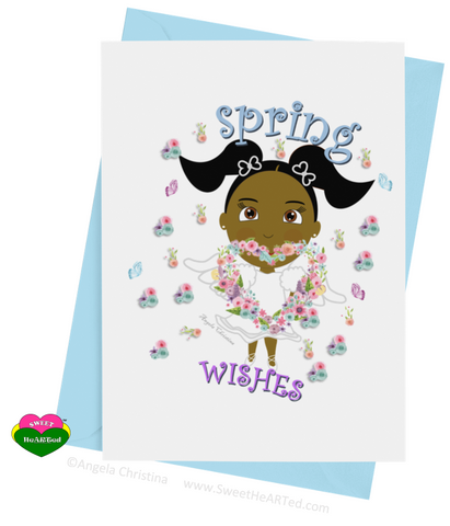 Card- Spring Angel-Kaylyn