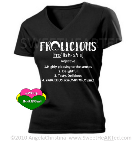 FroLicious (White on Black)