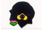 Beanie/Cap- Give Me My Puffs  (Gold on Black)