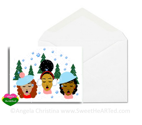 Holiday Card- Fro La La La La