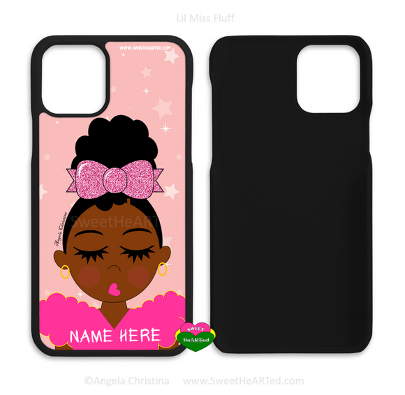 Phone Case-Lil Miss Fluff (Pink)