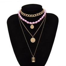 Load image into Gallery viewer, Sexy Sexy Chic Multi Layered Necklace Set