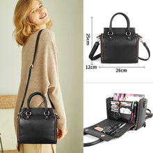 Load image into Gallery viewer, City Girl Leather Everything Tote