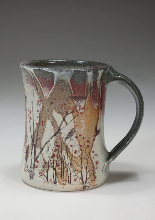 berry bush mug