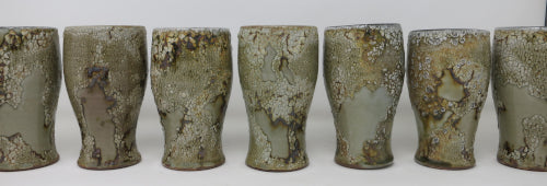 crackle wine cups
