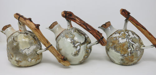 crackle decanters
