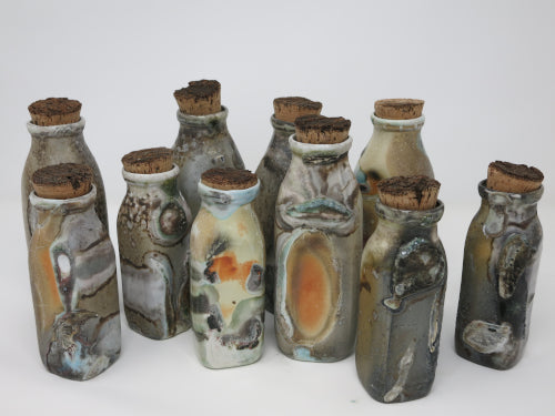 creamer bottles soda fired