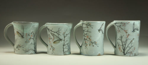 humming bug mugs