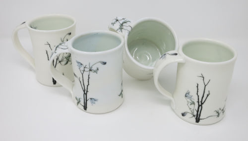 porcelain imaged mugs