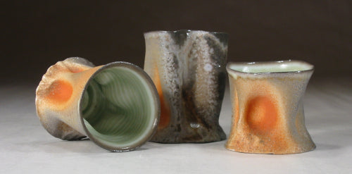 wood soda fired trunk cups