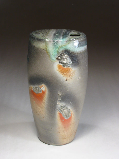 soda fired window vase