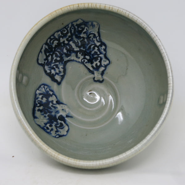 Celedon Crackle/Patchwork Bowl (Large)