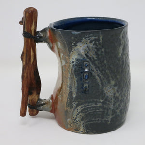 Wood Handled Mug