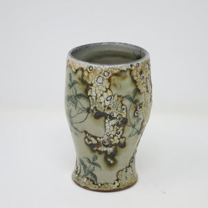 Imaged Crackle Wine Tumbler (Vines)