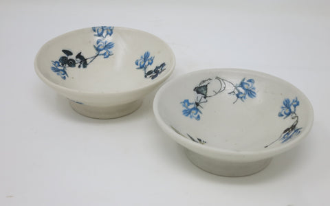 Dessert Bowl Set (Blue Crocus)