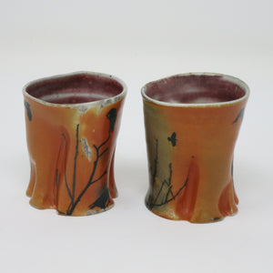 Raven Trunk Cups (Set of 2)