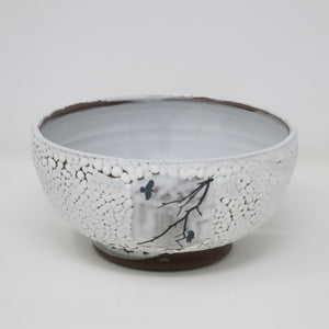 Ravens in Snow (Medium Bowl)