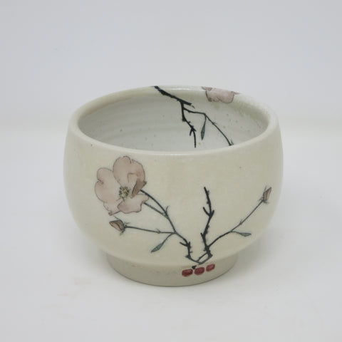 Ice Cream Bowl (Pink Poppy)