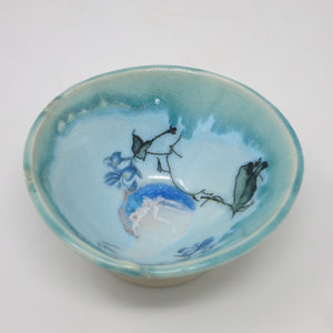 Sorbet Bowl (Blue Crocus)