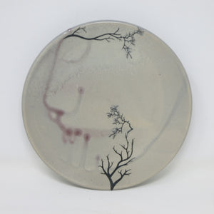 Pink Blossom Plate