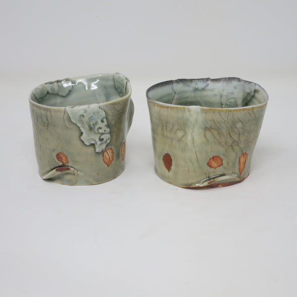 Patchwork Scotch Cups (Set of 2)