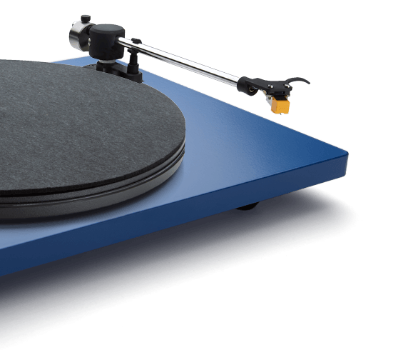 Blue Orbit Custom tonearm detail