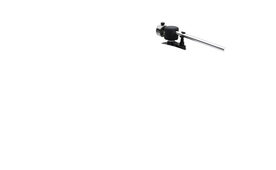 Tonearm without cue lever