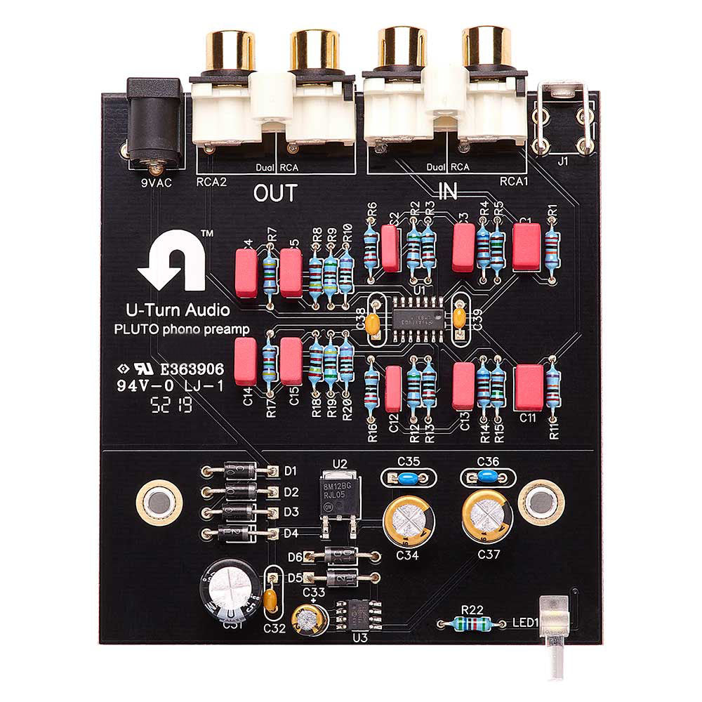 Pluto 2 Phono Preamp circuit board