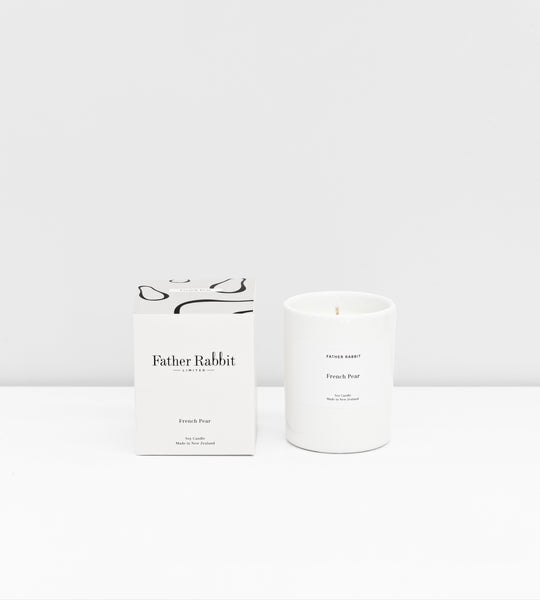 Father Rabbit | Soy Scented Candle | French Pear