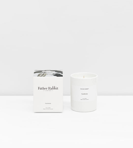 Father Rabbit | Soy Scented Candle | Gardenia