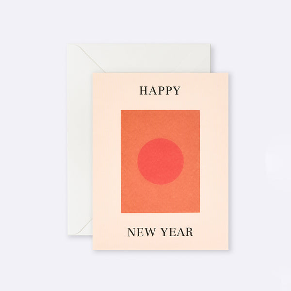 Lettuce | Card | Happy New Year Circle