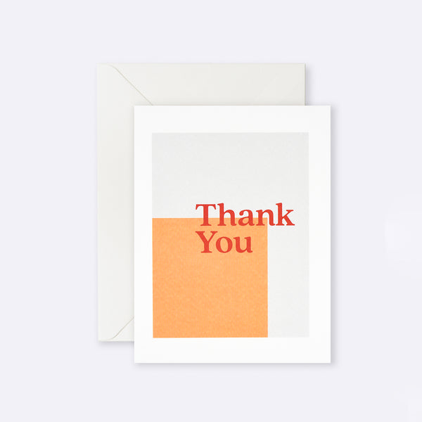 Lettuce | Card | Thank You Orange Square