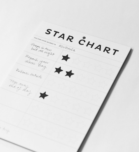 Father Rabbit Stationery | A4 Star Chart