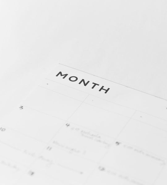 Father Rabbit Stationery | A2 Month Planner