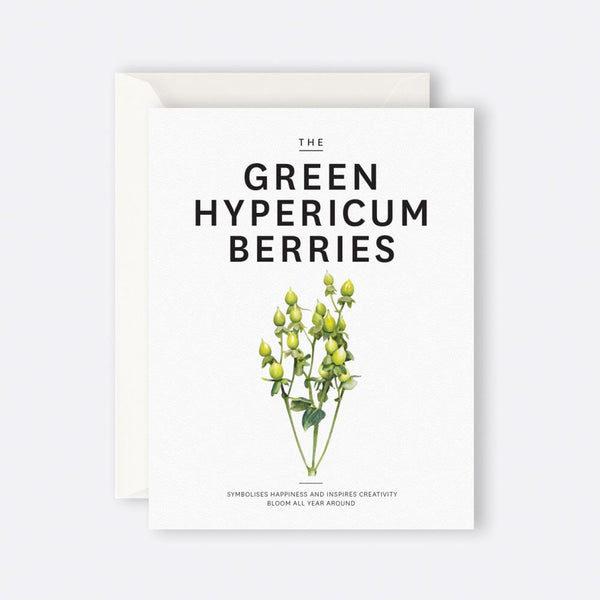 Father Rabbit Stationery | Card | THE GREEN HYPERICUM BERRIES