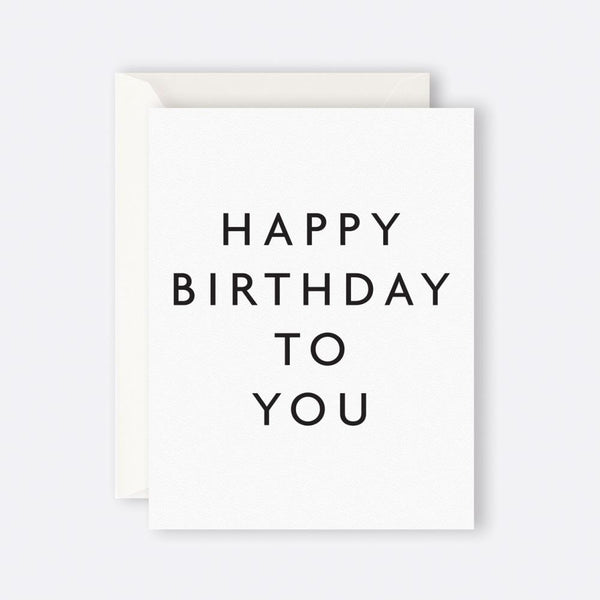 Father Rabbit Stationery | Card | HAPPY BIRTHDAY TO YOU