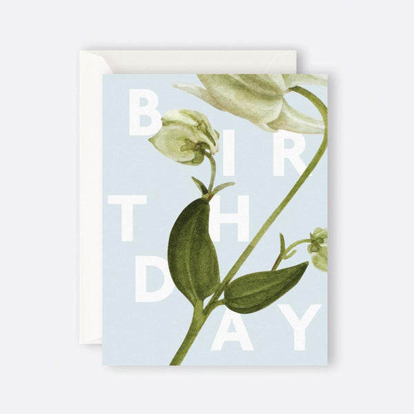 Father Rabbit Stationery | Card | FLORAL BIRTHDAY